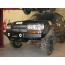 Pare Buffle / Pare Choc avant pour Toyota HDJ80