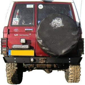 Pare buffle / Pare choc arrière pour Toyota LJ / KZJ série 7