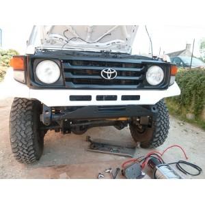 Prolonge chassis pour Toyota HZJ